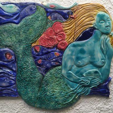 Ceramica invetriata cm 90 x 63 2021